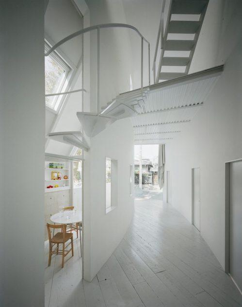 piso inferior casa japonesa inusual
