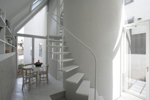 o house casa japonesa escaleras interiores
