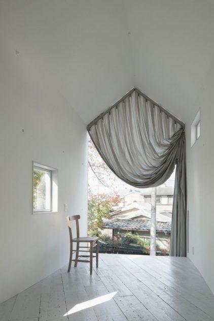 ventana gigante casa japonesa