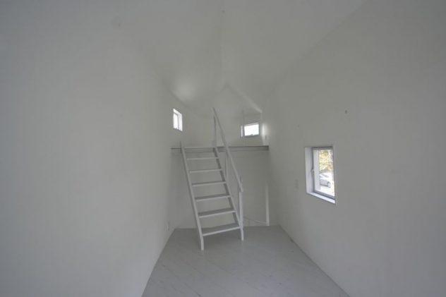 escaleras casa japonesa inusual