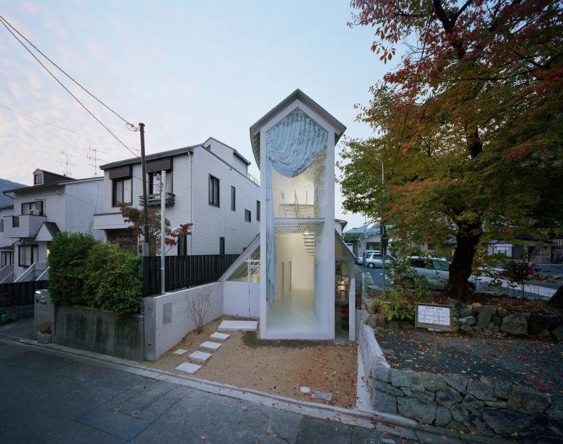 O House, una inusual casa japonesa