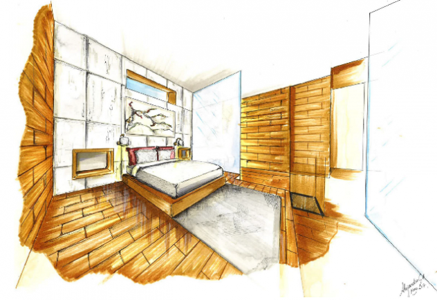 dormitorio proyecto alejandro guzmán