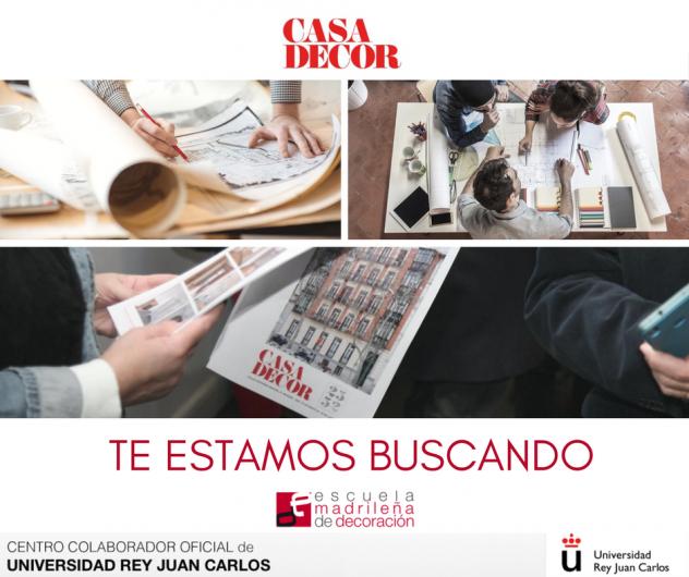 casa decor 2017 colabora con escuela madrileña de decoración