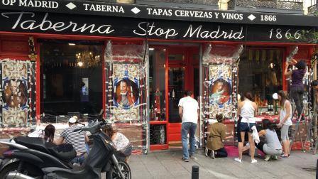 taberna stop madrid proyecto decoraccion