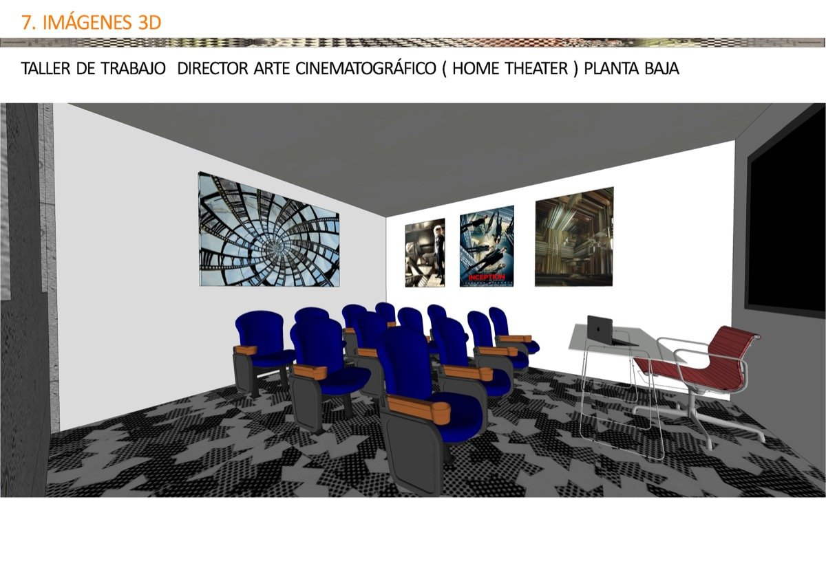 Proyecto ruth obadia page 75 escuela madrile a de decoraci n - Escuela de interiorismo ...
