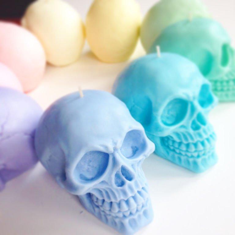 decoracion de halloween calaveras
