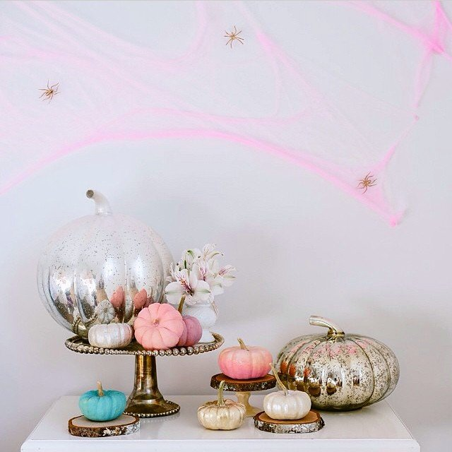 decoracion de halloween telarañas
