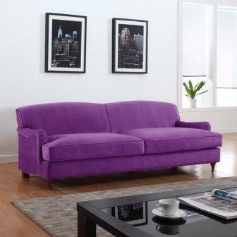 sofa ultra violeta
