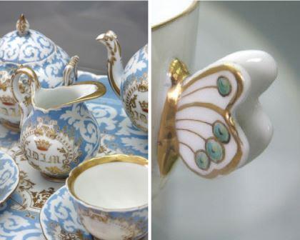 Vista alegre porcelana portuguesa de lujo esmadeco - Vajillas portuguesas ...