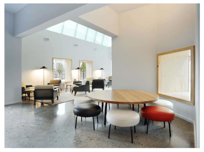 Hotel Aire de Bardenas, interiorismo