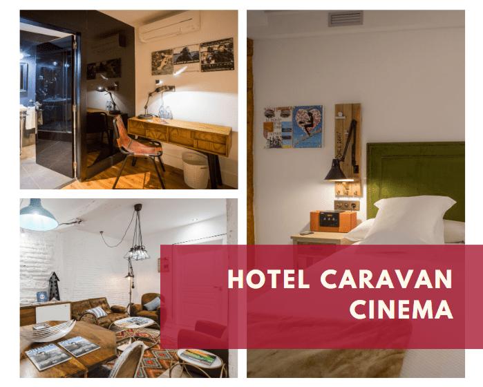 Hotel Caravan Cinema