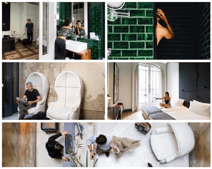 Hotel Praktik Rambla, interiorismo