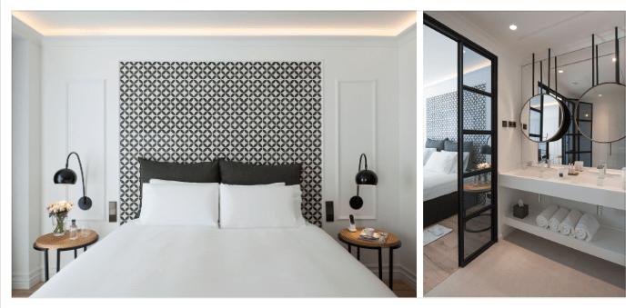 Hotel Serras, interiorismo