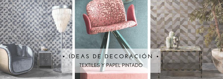 Textiles y papeles pintados