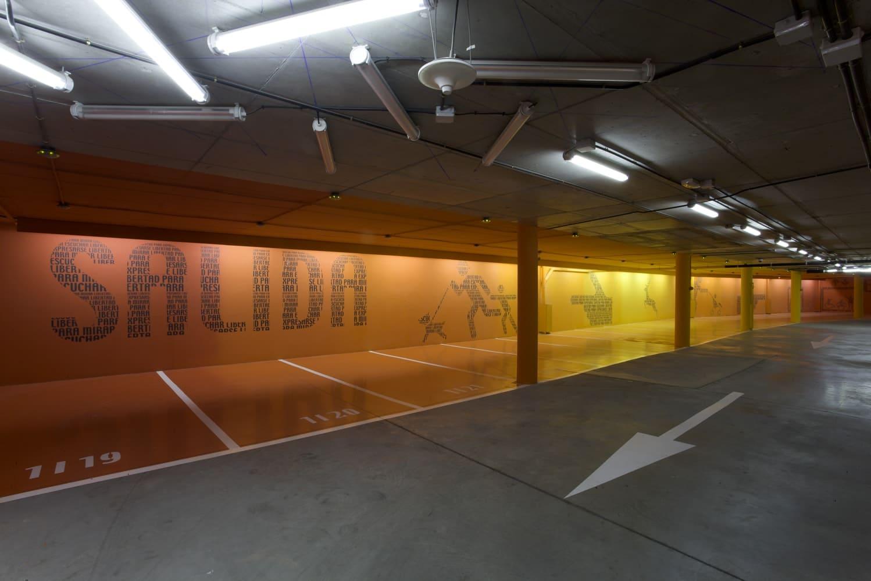 aparcamiento Hotel Puerta América