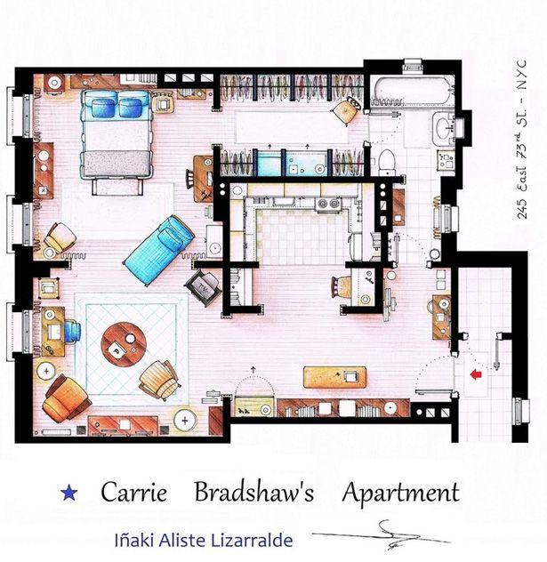 Carrie Bradshaw Apartamento
